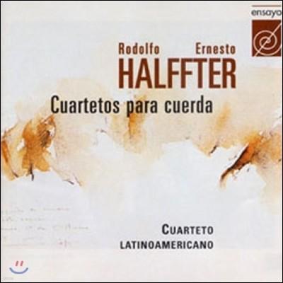 Cuarteto Latinoamericano 로돌포 / 에르네스트 할프터: 현악 사중주 (Rodolfo / Ernesto Halffter: String Quartets [Cuartetos para Cuerda] Op.24)