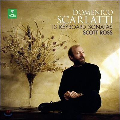 Scott Ross 도메니코 스카를라티: 13개의 건반 소나타 (Domenico Scarlatti: 13 Keyboard Sonatas) 스코트 로스 [LP]