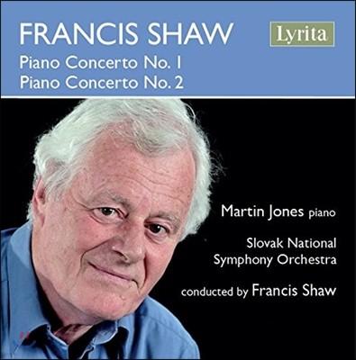 Martin Jones 프란시스 쇼: 피아노 협주곡 1번, 2번 (Francis Shaw: Piano Concertos) 마틴 존스, 슬로바키아 국립 심포니 오케스트라, 프란시스 쇼 자작자연
