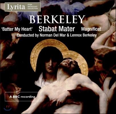 Norman Del Mar 레녹스 버클리: 종교 합창 작품집 - 스타바트 마테르, 마그니피카트 외 (Lennox Berkeley: Sacred Choral Music - Batter My Heart, Stabat Mater, Magnificat)
