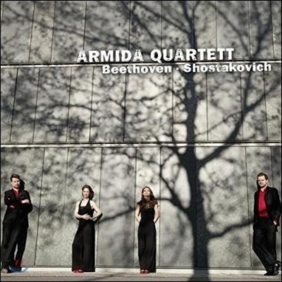 Armida Quartett 베토벤: 현악 사중주 7번 / 쇼스타코비치: 사중주 10번 (Beethoven / Shostakovich: String Quartets Op.59 No.1 / Op.118) 아르미다 콰르텟
