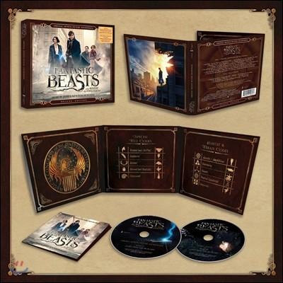 신비한 동물사전 영화음악 (Fantastic Beasts and Where To Find Them OST by James Newton Howard 제임스 뉴튼 하워드) [2CD Deluxe Edition]