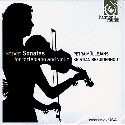Petra Mullejans 모차르트 : 바이올린 소나타 (Mozart: Sonatas for Fortepiano & Violin K.454, K.379 373A, K.296)