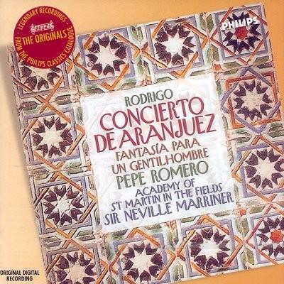 Pepe Romero 로드리고: 아랑훼즈 협주곡 (Rodrigo: Concierto de Aranjuez, Fantasia para un gentilhombre etc) 페페 로메로