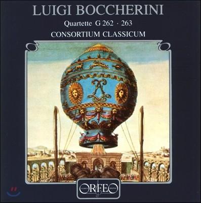 Consortium Classicum 보케리니: 관악 사중주 (Luigi Boccherini: Wind Quartet G.262 Nos.1-3, G.263 Nos.1-3) 콘소르티움 클라시쿰