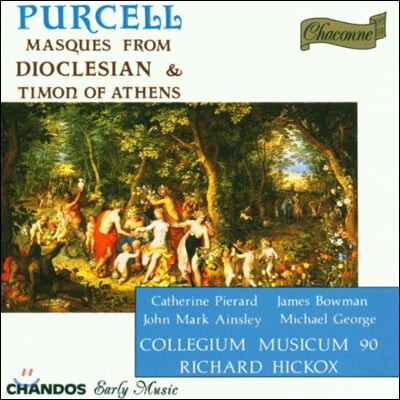 Richard Hickox 퍼셀: 아테네의 티몬, 디오클레시안 (Purcell: Masques From Dioclesian, Timon of Athens)