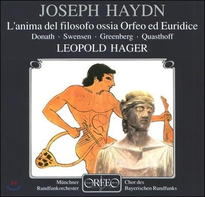Robert Swensen 하이든: 오르페오와 유리디체 (Haydn: L'anima del filosofo, ossia Orfeo ed Euridice)