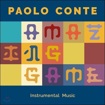 Paolo Conte (파올로 콘테) - Amazing Game: Instrumental Music