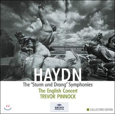 Trevor Pinnock 하이든: '질풍과 노도' 교향곡집 (Haydn: The 'Sturm und Drang' Symphonies)