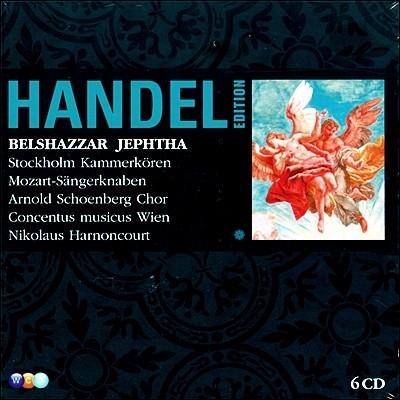 Nikolaus Harnoncourt 헨델: 벨샤자르, 예프타 (Handel : Belshazzar, Jephtha) 니콜라우스 아르농쿠르