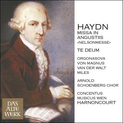 Nikolaus Harnoncourt 하이든: 넬슨 미사, 테데움 (Haydn: Missa in Angustiis, Te Deum) 니콜라우스 아르농쿠르, 콘첸투스 무지쿠스 빈