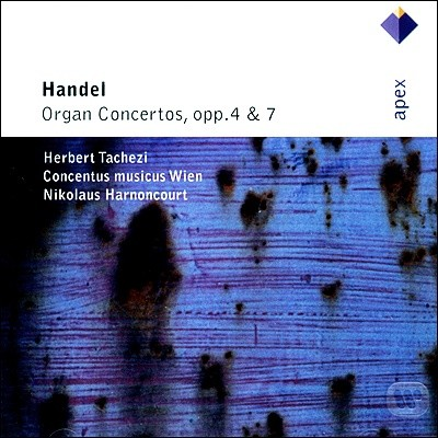 Herbert Tachezi / Nikolaus Harnoncourt 헨델: 오르간 협주곡집 - 타헤치, 아르농쿠르 (Handel: Organ Concertos Opus 4 & 7)