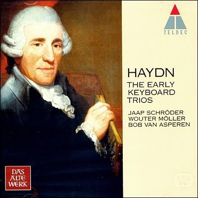 하이든 : 초기 피아노 삼중주곡집 - 슈뢰더, 묄러, 아스페렌