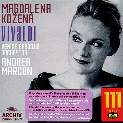 Magdalena Kozena 비발디 : 오페라와 오라토리오 아리아집 - 막달레나 코체나, 마르콘