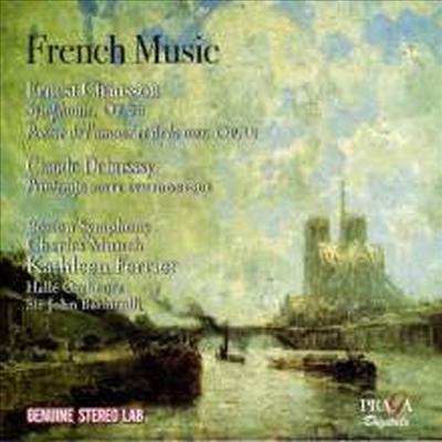 프랑스의 음악 - 쇼송 & 드뷔시: 관현악 작품집 (French Music - Works By Chausson & Debussy: Orchestral Works) - John Barbirolli