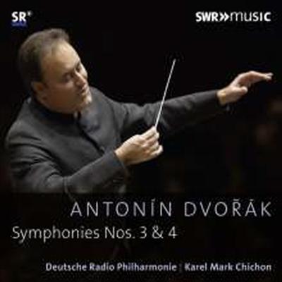 드보르작: 교향곡 3번 & 4번 (Dvorak: Symphonies Nos.3 & 4) - Karel Mark Chichon