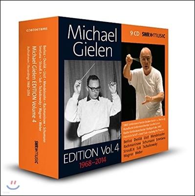 미하엘 길렌 에디션 4집 - 베를리오즈 / 드보르작 / 리스트 / 멘델스존 (Michael Gielen Edition Vol.4 1968-2014 - Romantic Works)