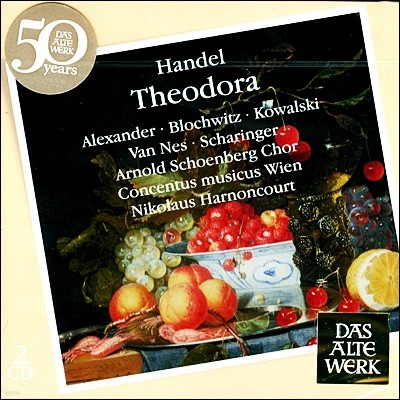 Nikolaus Harnoncourt 헨델 : 테오도라 (Handel: Theodora, HWV 68) 아르농쿠르