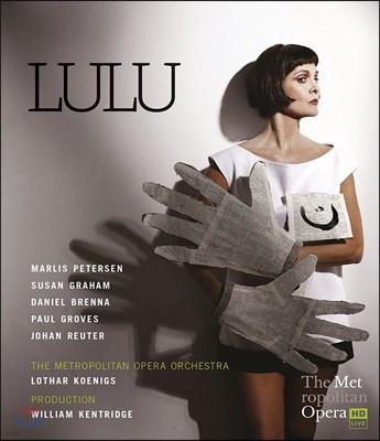 Marlis Petersen / Lothar Koenigs 알반 베르크: 오페라 '룰루' (Alban Berg: Lulu) 마를리스 페테르센, 메트로폴리탄 오페라 오케스트라, 로타르 쾨니히스