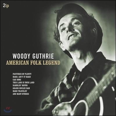 Woody Guthrie (우디 거스리) - American Folk Legend [2LP]