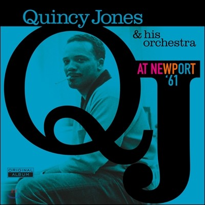 Quincy Jones & His Orchestra (퀸시 존스 앤 히스 오케스트라) - At Newport '61 [LP]