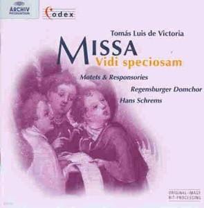 [미개봉] Hans Schrems / Victoria : Missa Vidi Speciosam, Motets & Responsories (수입/미개봉/4531642)