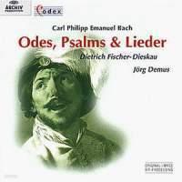 [미개봉] Dietrich Fischer-Dieskau, Jorg Demus, Colin Tilney / C.P.E. Bach : Odes, Psalms & Lieder (수입/미개봉/4531682)