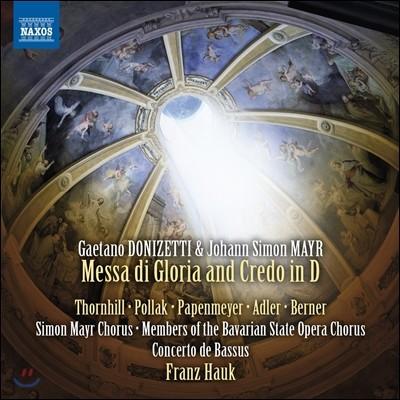 Franz Hauk 도니제티 / 요한 지몬 마이어: 미사 글로리아와 크레도 D장조 (Donizetti / Johann Simon Mayr: Messa di Gloria & Credo in D)