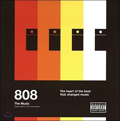 808: 더 뮤직 다큐멘터리 음악 (808 The Music: The Heart of the Beat That Changed Music OST) [2LP]