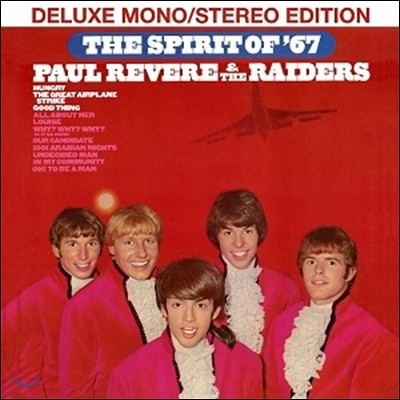 Paul Revere & The Raiders (폴 리비어 앤 더 레이더스) - Spirit Of 67 [Deluxe Mono / Stereo Edition]