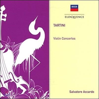 Salvatore Accardo 타르티니: 바이올린 협주곡집 (Tartini: Violin Concertos D.96, 117, 78, 56 & 83) 살바토레 아카르도, 이 무지치, 잉글리쉬 챔버 오케스트라