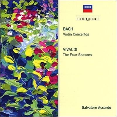 Salvatore Accardo 스트라디바리우스로 연주하는 비발디: 사계 / 바흐: 바이올린 협주곡 (J.S.Bach: Violin Concertos BWV1041 & 1043 / Vivaldi: The Four Seasons) 살바토레 아카르도