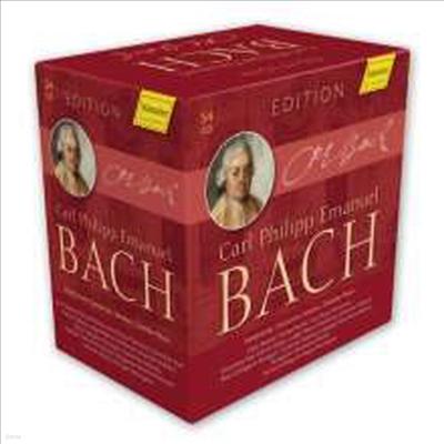 C.P.E바흐 에디션 (Carl Philipp Emanuel Bach Edition) (54CD Boxset) - 여러 아티스트