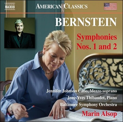 Marin Alsop 레너드 번스타인: 교향곡 1번 '예레미야', 2번 '불안의 시대' (Leonard Bernstein: Symphonies Jeremiah, The Age of Anxiety) 장-이브 티보데, 마린 알솝