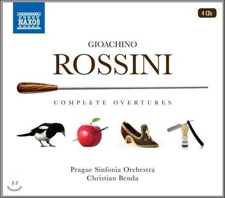Christian Benda 로시니: 오페라 서곡 전집 세트 (Gioachino Rossini: Complete Overtures) 프라하 신포니아 오케스트라, 크리스티안 벤다