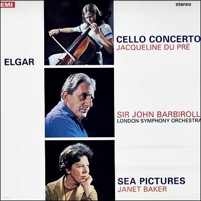 Jacqueline Du Pre 엘가: 첼로 협주곡 - 재클린 뒤 프레 (Elgar: Cello Concerto) [LP]