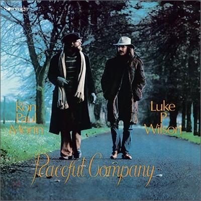 Ron Paul Morin & Luke P. Wilson - Peaceful Company (LP Miniature)