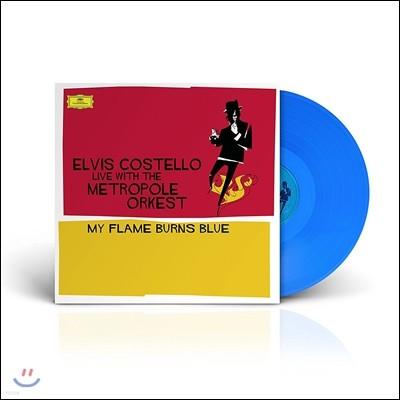 엘비스 코스텔로 라이브 윗 더 메트로폴 오케스트라 (Elvis Costello Live with the Metropole Orkest - My Flame Burns Blue) [블루 컬러 한정반 2LP]
