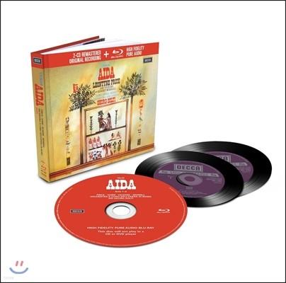 Leontyne Price 베르디: 아이다 (Verdi: Aida) 레온타인 프라이스, 로마 오페라 하우스 오케스트라와 합창단, 게오르그 솔티 [2CD+Blu-Ray Audio]