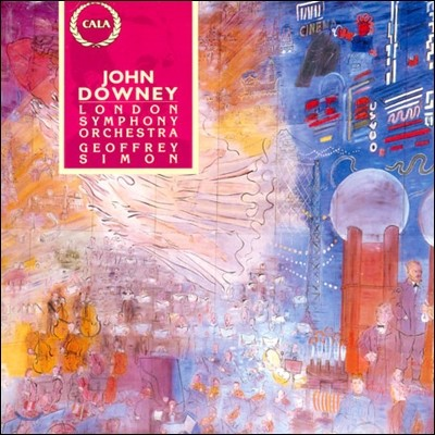 Geoffrey Simon  존 다우니: 더블베이스 협주곡 (John Downey: Concerto for Double-Bass, Discourse)