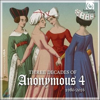 어나니머스 4의 30년 1986-2016: 결성 30주년 기념 앨범 (Three Decades of Anonymous 4)