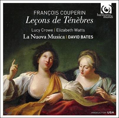 La Nuova Musica / David Bates 쿠프랭: 수요일의 만가 [르송 드 테네브르] (Francois Couperin: Lecons de Tenebres) 라 누오바 무지카, 데이비드 베이츠