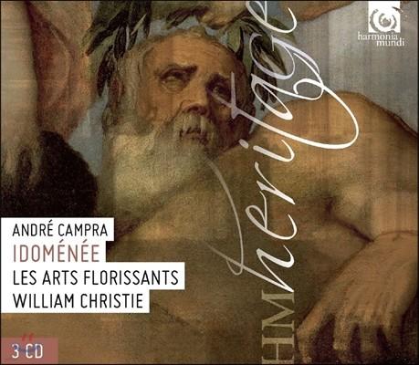William Christie / Bernard Deletre 앙드레 캉프라: 이도메네 - 1731년 개정본 (Andre Campra: Idomenee) 베르나르 들레트레, 레 자르 플로리상, 윌리엄 크리스티