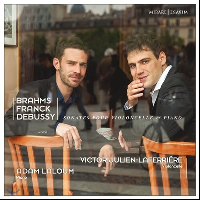 Victor Julien-Laferriere 브람스 / 프랑크 / 드뷔시: 첼로와 피아노를 위한 소나타 (Brahms / Franck / Debussy: Sonatas for Cello & Piano) 빅토르 줄리앙-라페리에르
