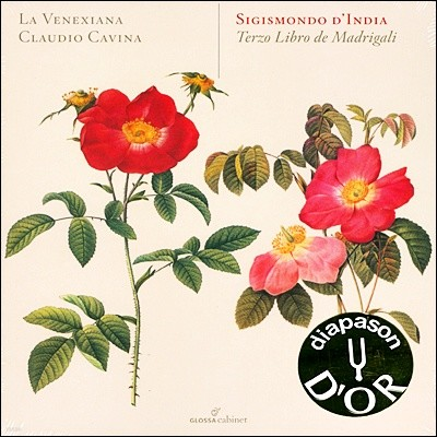 La Venixiana 지지스몬도 딘디아: 마드리갈집 3권 (Sigismondo D'India: Terzo Libro de Madrigali)