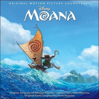 모아나 뮤지컬 애니메이션 음악 (Moana OST by Mark Mancina 마크 맨시나) [Standard Edition]