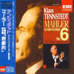 Mahler : Symphony No.6 'Tragische' : Tennstedt