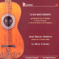 Luigi Boccherini : Quintetos Con Guitarra : Jose Miguel MorenoㆍLa Real Camara