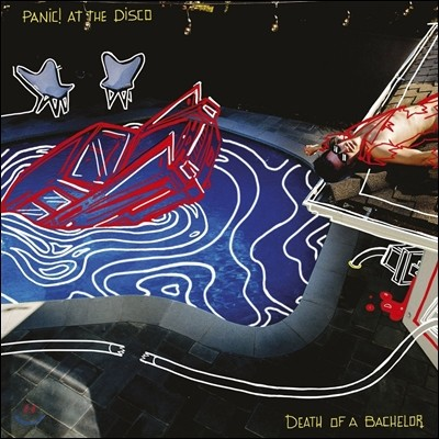 Panic! At The Disco (패닉! 앳 더 디스코) - Death Of A Bachelor [LP]
