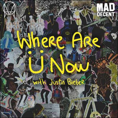 Skrillex & Diplo (스크릴렉스 앤 디플로) - Where Are U Now with Justin Biber [12인치 옐로우 컬러 Vinyl]